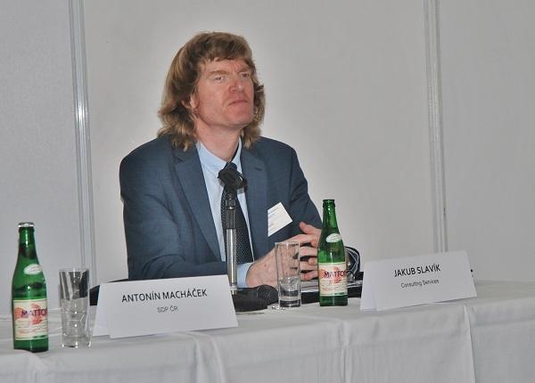 Ing. Jakub Slavík, MBA – Consulting Services, principal consultant, autor projektu Elektrické autobusy pro město (foto: Zdeněk Nesveda)