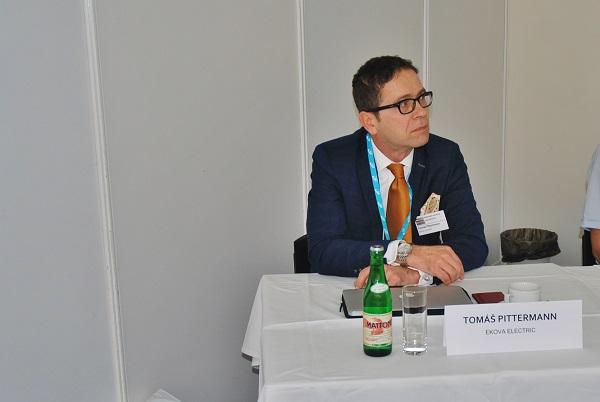 Ing. Tomáš Pittermann, MBA, předseda představenstva společnosti EKOVA ELECTRIC a.s. (foto: Zdeněk  Nesveda)