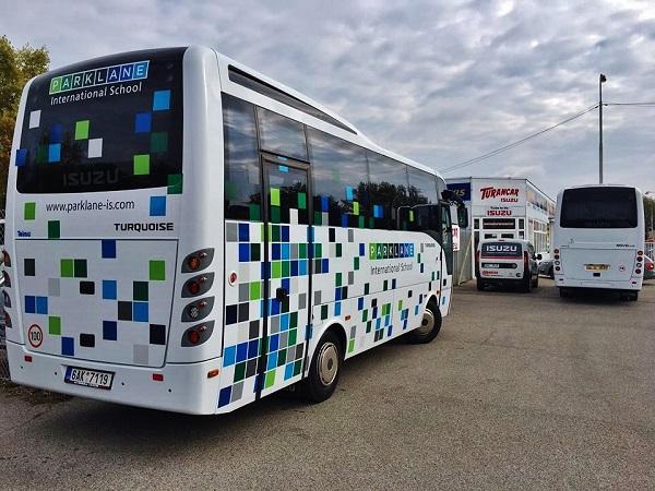 Školní autobus ISUZU Turquoise (foto: Turancar)