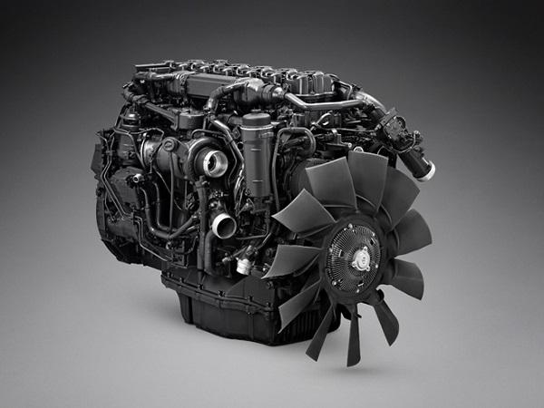 Nový plynový motor Scania s označením OC13 (foto: Scania)