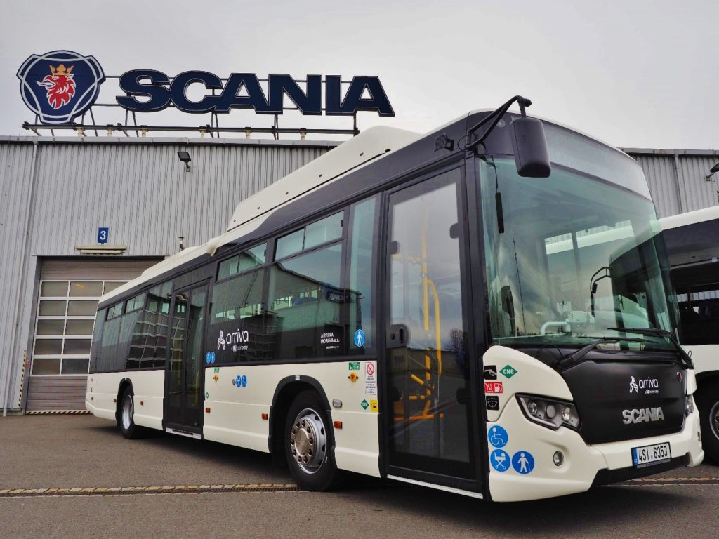 Scania Citywide LE s pohonem na CNG (foto: Scania)