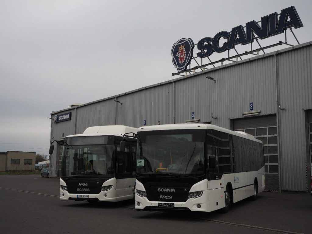 Scania Citywide LE s pohonem na CNG (toto: Scania)