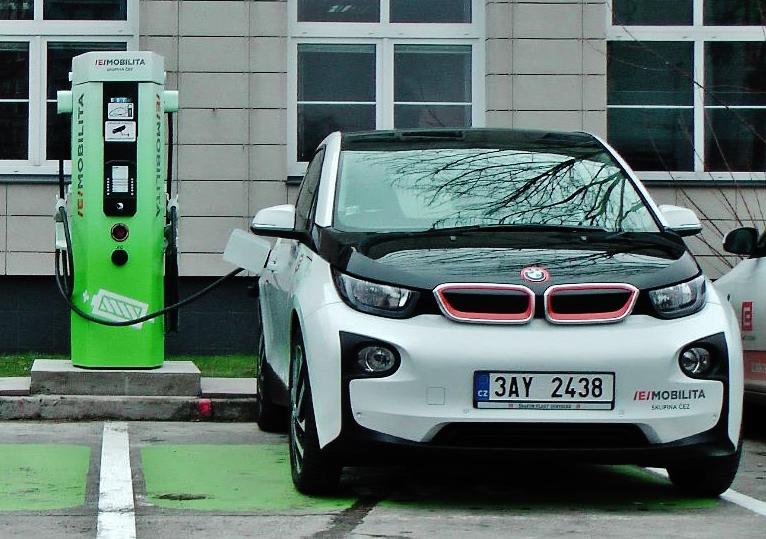 DPP pronajme si pronajme elektromobily na 36 měsíců od společnosti ČEZ ESCO (ilustrační foto: ČEZ)