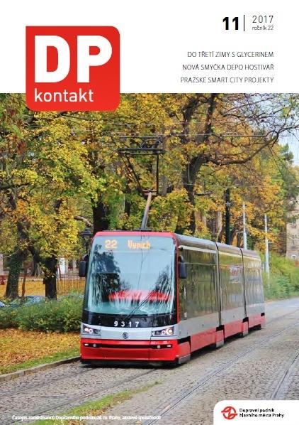 Firemní časopis DP kontakt 11/2017