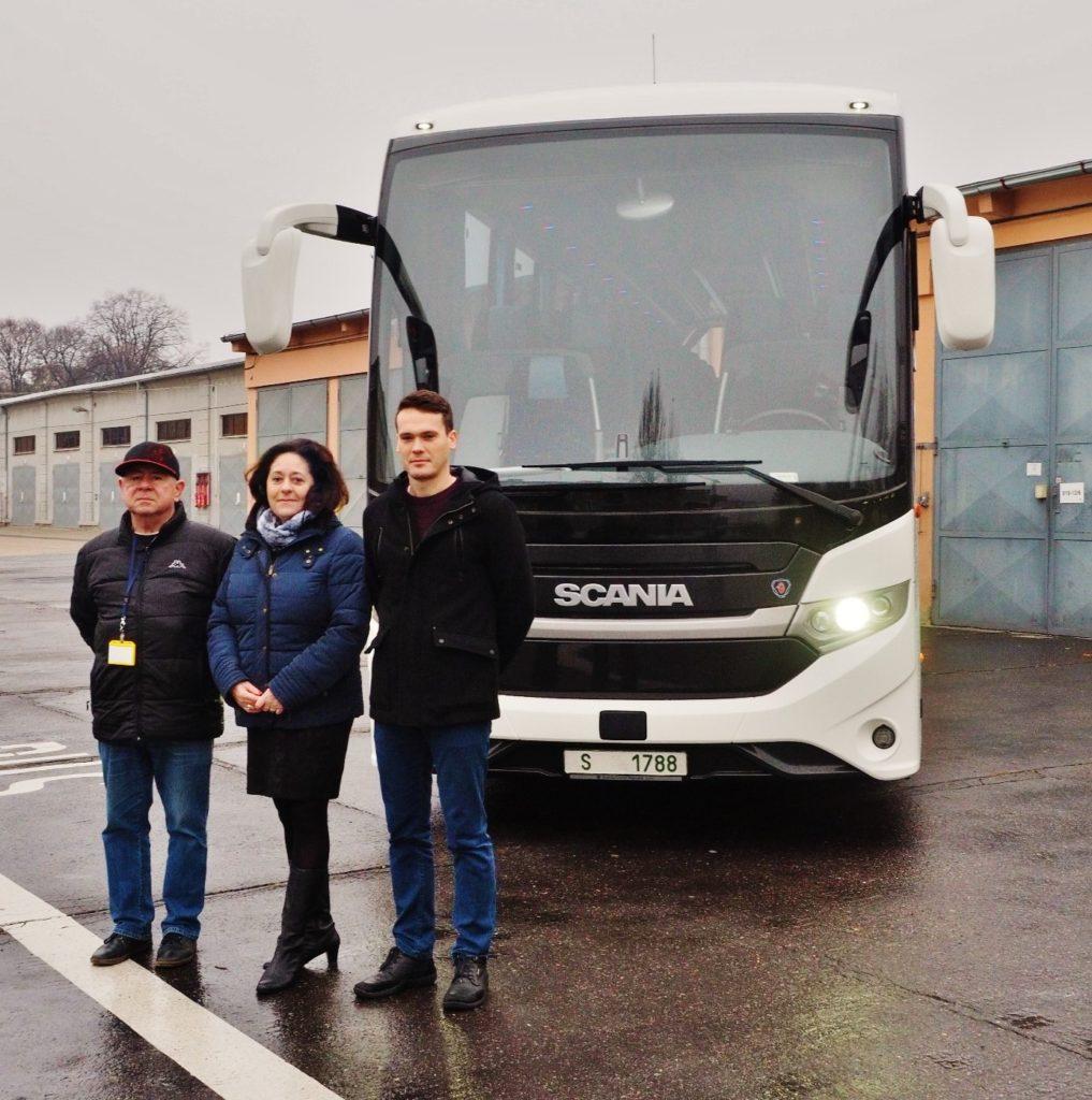 Scania Interlink HD pro armádu (foto: Scania