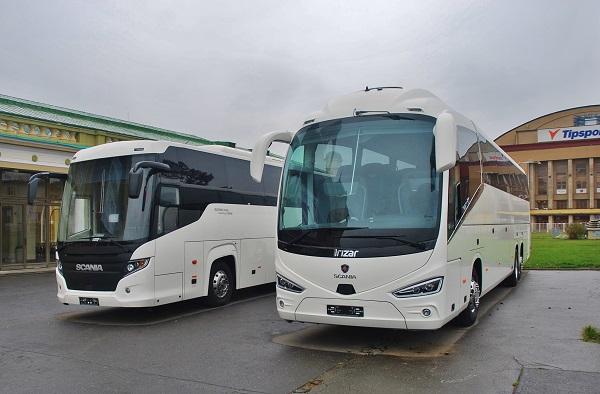 Z dálkových busů budil největší pozornost coach Scania Irizar i6s (foto: Zdeněk Nesveda