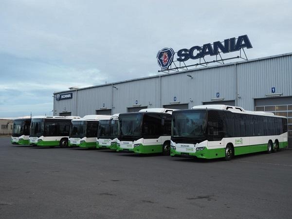 Šest nových autobusů Model Citywide LE a LF pro 3ČSAD (foto: Scania)