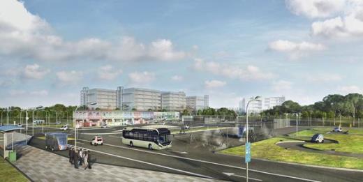 Tyto společně vyvinuté autonomní elektrobusy dorazí do Singapuru začátkem roku 2019.