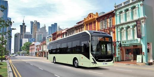 Pro společný projekt dodá Volvo dva své standardní elektrobusy Volvo 7900 Electric.