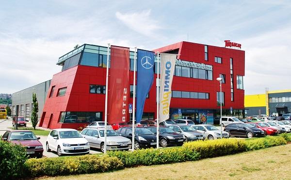Nové servisní centrum TURANCAR otevřené v roce 2014 (foto: Zdeněk Nesveda)