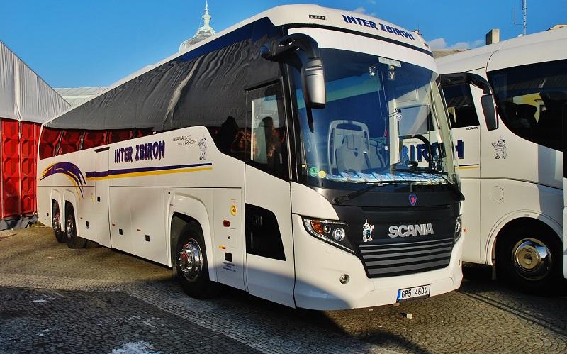 Scania Touring - CK Inter Zbiroh) - foto: Zdeněk Nesveda)
