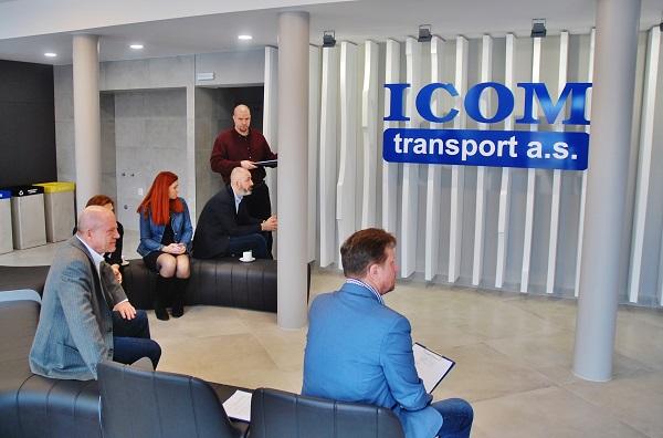 Nové zákaznické prostory v nově vznikajícím autobusovém nádraží v Humpolci (foto: Zdeněk Nesveda)