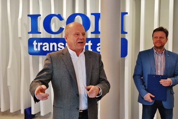 Generální ředitel ICOM transport Zdeněk Kratochvíl (foto: Zdeněk Nesveda)