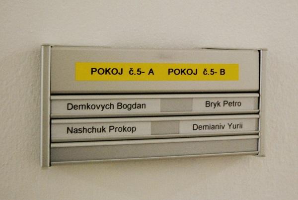 V prostorách společnosti v Humpolci je k dispozici 30 míst pro zahraniční a přespolní řidiče autobusů a kamionů. (foto: Zdeněk Nesveda)