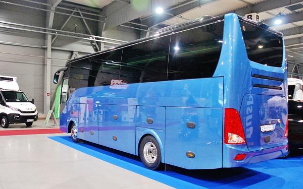 Mercedes - Benz Atego Travel dováží společnost BusPlan a poprvé se představil v Čechách na podzim v roce 2017 (foto: Zdeněk Nesveda)
