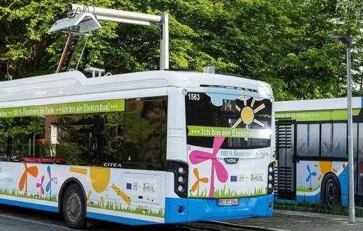 Elektrobus VDL Citea SLF-120 Electric rychlé dobíjení Schunk