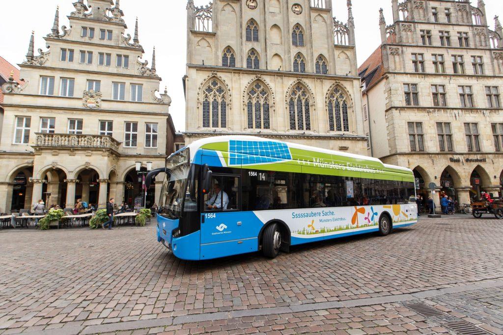 Elektrobus VDL Citea SLF-120 Electric v Münsteru ( foto: VDL)