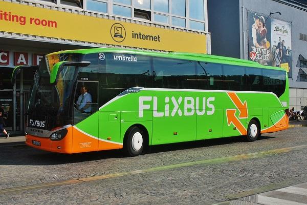 FlixBus na AN Florenc v Praze (ilustrační foto: Zdeněk Nesveda)