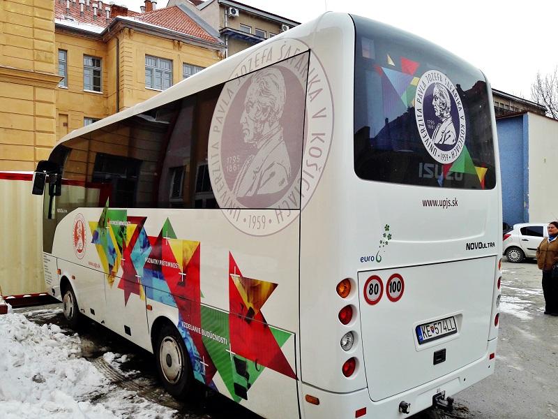 ISUZU NOVO ULTRA , ktoré zakúpila Univerzita Pavla Jozefa Šafárika v Košiciach (foto: ISUZU)