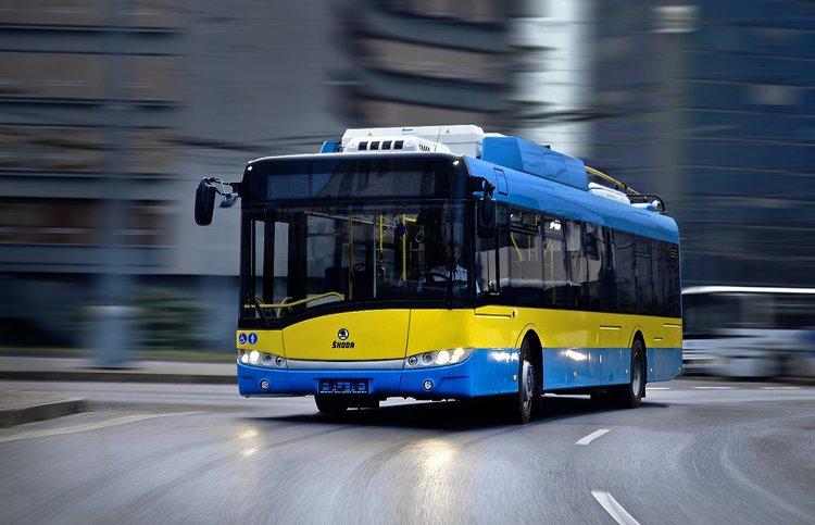 Trolejbusy pro Pleven budou mít trakční baterie pro možnost autonomní jízdy (foto: Škoda)