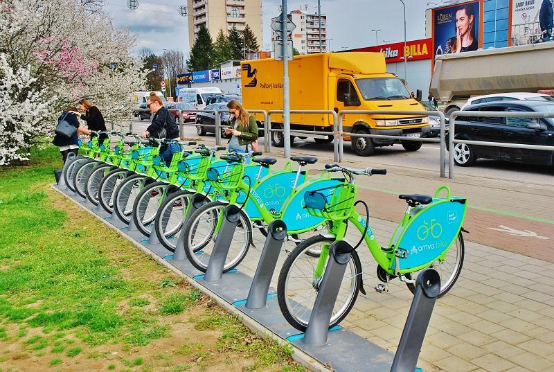 V Nitre už funguje zdieľanie bicyklov (foto: Zdeněk Nesveda)