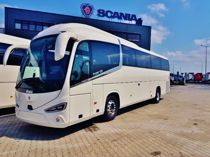 Scania Irizar i6s na veletrhu (foto: Scania)