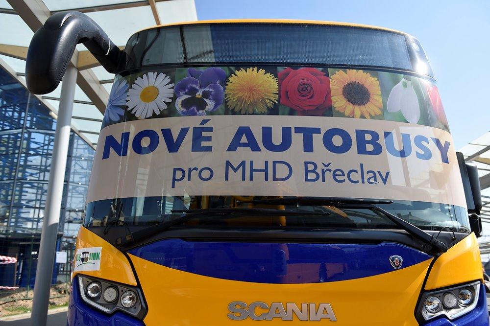 Břeclav obohatí 12 metrové modely Scania CITYWIDE LF (foto: Scania)