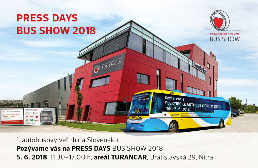 PRESS DAYS BUS SHOW 2018