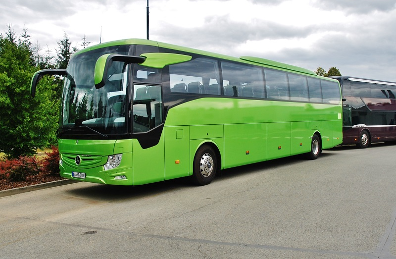 Mercedes - Benz Tourismo nové generace, i jeho cesta začala právě tady v Holýšově. (foto: Zdeněk Nesveda)