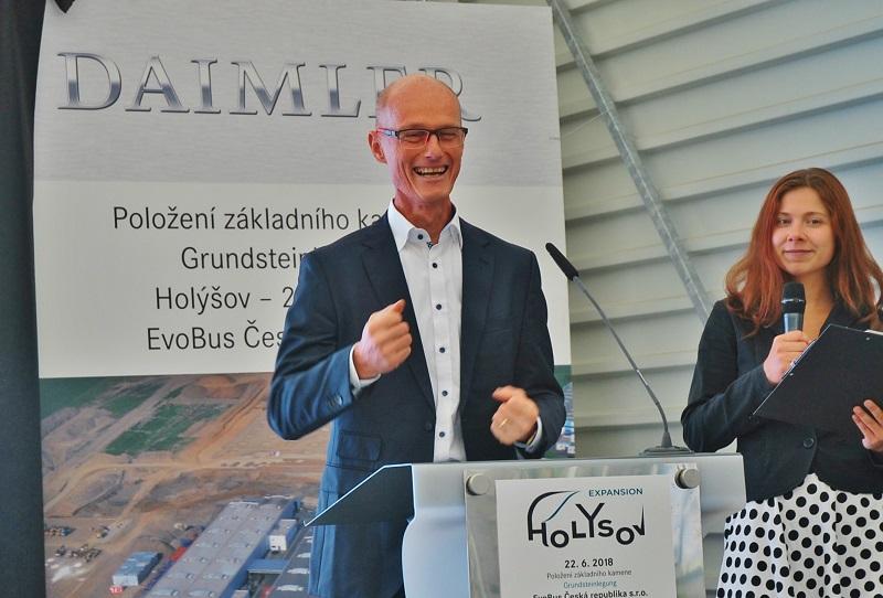 Marcus Nicolai, ředitel výroby Daimler Buses (foto: Zdeněk Nesveda)