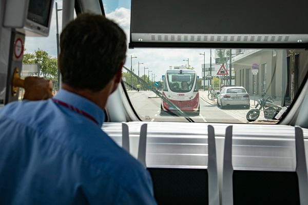 Wiener Linien testuje první autonomní e-bus.