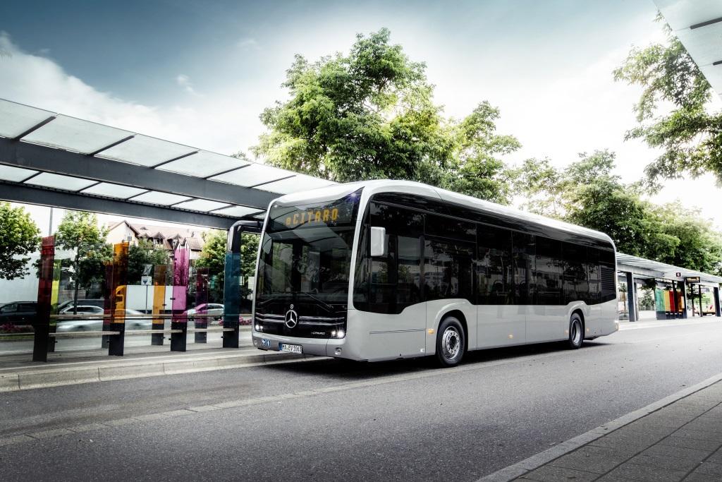 eCitaro bude mít oficiální světovou premiéru na IAA v Hannoveru (foto: Daimler Buses)