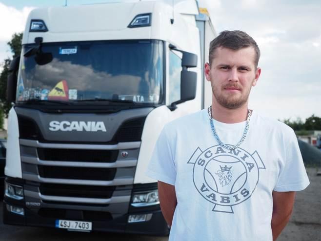 V České republice se stal za měsíc červen vítězem Vlastimil Schimmel ze společnosti VELU Trans (foto: Scania)