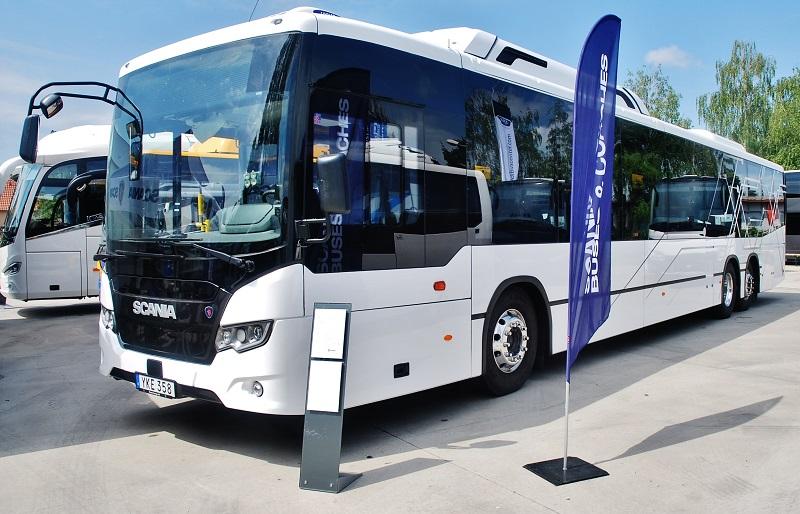 Scania Citywide Suburban K320 UB6x2*4 14,9m CNG, slovenská premiéra na veletrhu BUS SHOW zdravá doprava 2018 (foto: Zdeněk Nesveda)