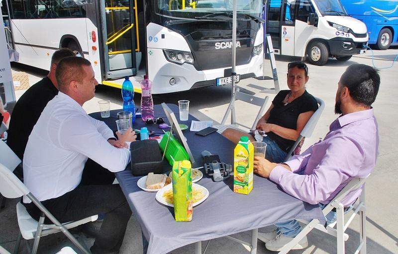 Scania na veletrhu BUS SHOW zdravá doprava 2018 (foto: Zdeněk Nesveda)