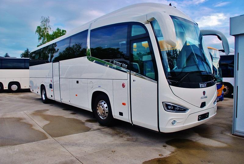 Luxusní autokar, Scania Irizar i6 C na veletrhu BUS SHOW zdravá doprava 2018 (foto: Zdeněk Nesveda)