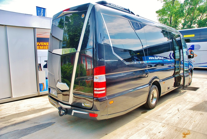 Autobus Mercedes - Benz  Sprinter 519 CDI v expozici BUSPLAN na veletrhu BUS SHOW 2018  (foto: Zdeněk Nesveda)