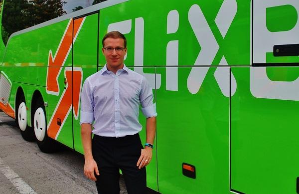 Pavel Prouza, ředitel FlixBusu pro Českou republiku a Slovensko (foto: Zdeněk Nesveda)