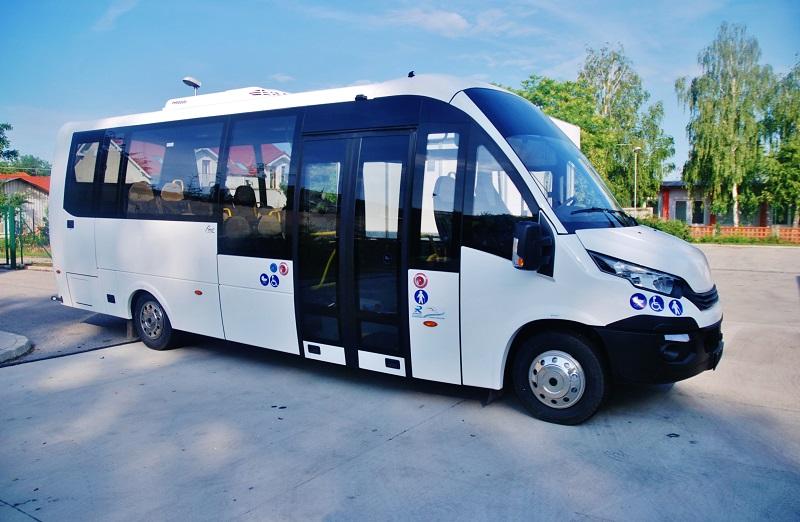 Elektrobus EVC - Rošero First FCLLI Rošero na veletrhu BUS SHOW zdravá doprava 2018 v Nitře (foto: Zdeněk Nesveda)