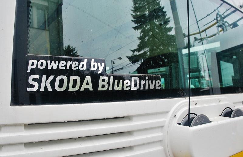 Výrobce parciálních trolejbusů výrobce ŠKODA ELECTRIC a.s. (foto: Zdeněk Nesveda)