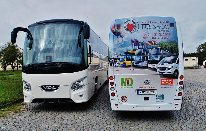 Nová generace autobusů VDL Futura se představí na Slovensku v únoru na veletrhu BUS SHOW zdravá doprava (foto: Zdeněk Nesveda)