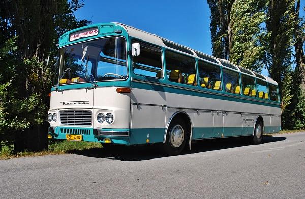 Unikátní Karosa Evropabus z toku 1968, kterou uvidíte včetně připojeného rotelu, majitelem je společnost GW JIHOTRANS a.s (foto: Zdeněk Nesveda)