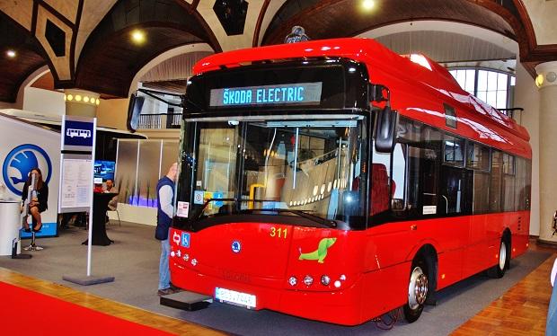 Elektrobus Škoda 29BB na veletrhu CZECHBUS 2018 (foto: Zdeněk Nesveda)