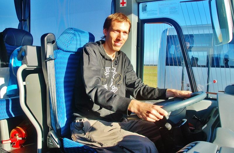 Jan Freitag, marketingové oddělení ROPID (foto: Zdeněk Nesveda)