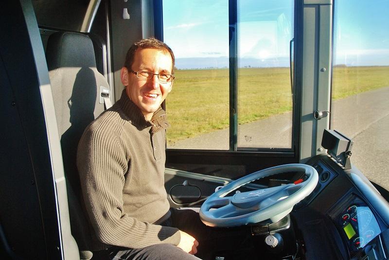Michal Štengl šéfredaktor motoristického časopisu Transport a logistika (foto: Zdeněk Nesveda)