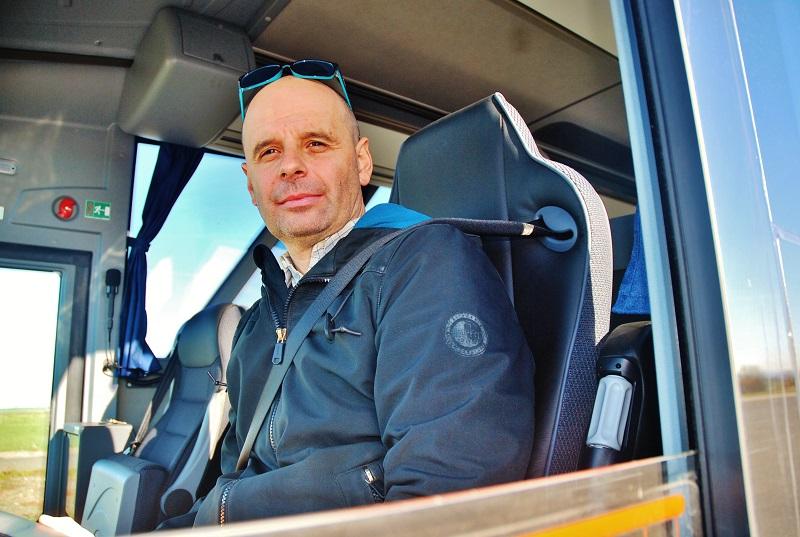 Pavel Novák marketingový specialista v autobusové oblasti PAN Communications (foto: Zdeněk Nesveda)