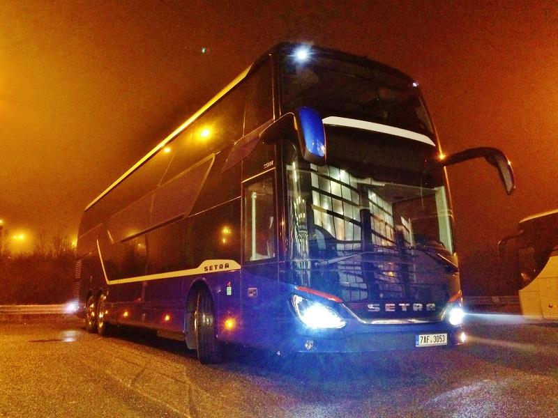S 531 DT TopClass společnosti Katev travel & Commercial (foto: EvoBus)