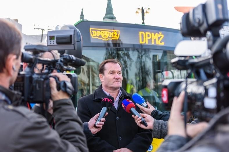 Ján Barienčík, ředitel Dopravního podniku města Žilina (foto: DPMŽ)
