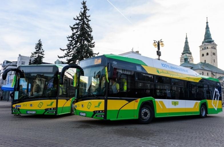 Nové elektrobusy ŠKODA Perun 26SH01 v Žilině (foto: DPMŽ)