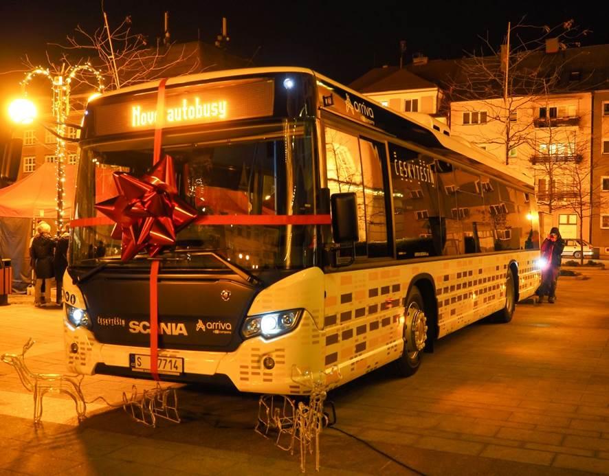 Arriva Morava bude v příštích deseti letech používat pro dopravní obslužnost města Český Těšín výhradně vozidla značky Scania (foto: Scania)